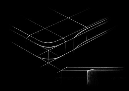 alpha金属边框的顶角设计兼顾时尚感和保护